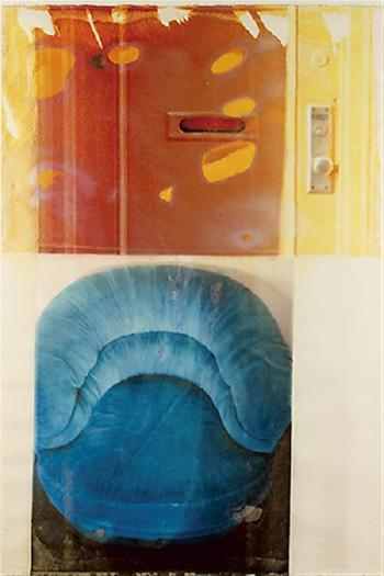 Robert Rauschenberg-Robert Rauschenberg - Blue Smile, Waterworks Series-1994