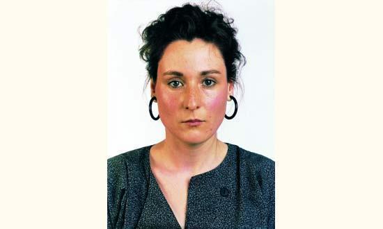 Thomas Ruff-Portrait de Karin Kneffel-1988