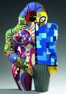 Niki de Saint Phalle-Adam et Eve-1970