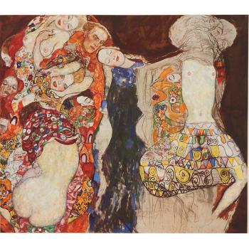 Gustav Klimt-Bridal Progress (The Bride, No. 30)-1917