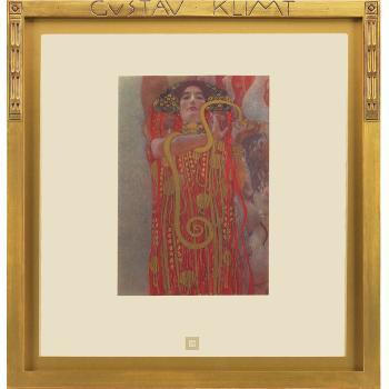 Gustav Klimt-Hygieia (detail from Medicine)-