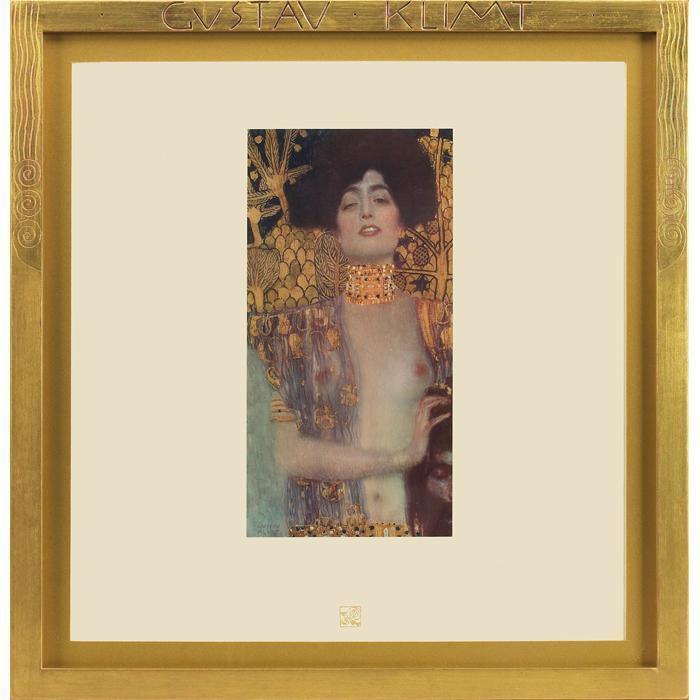Gustav Klimt-Judith-