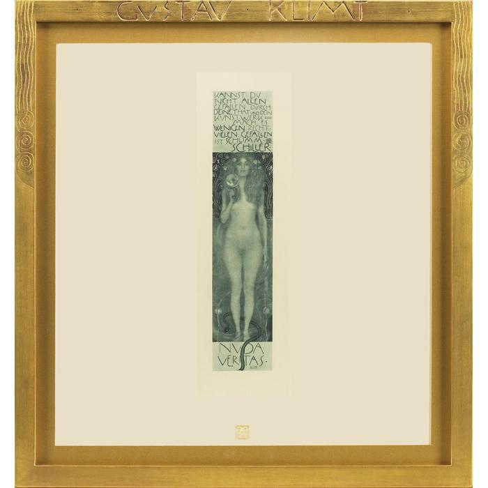 Gustav Klimt-Nuda Veritas-