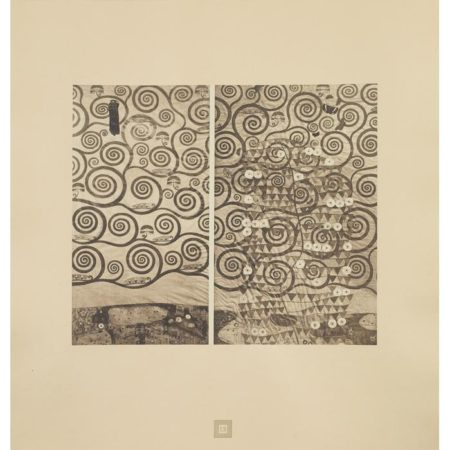 Gustav Klimt-Details from The Tree of Life-