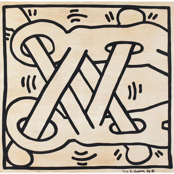 Keith Haring-Keith Haring - Art Attack on AIDS-1988