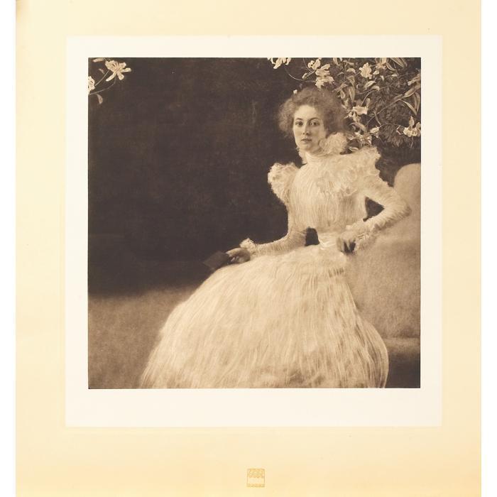 Gustav Klimt-Portrait of Sonja Knips-1914