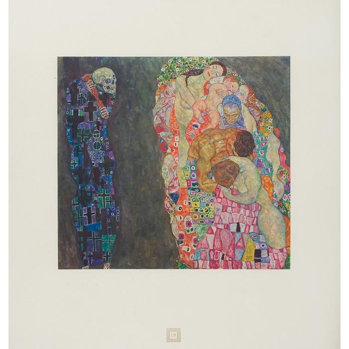 Gustav Klimt-Life and Death, No. 18-1931