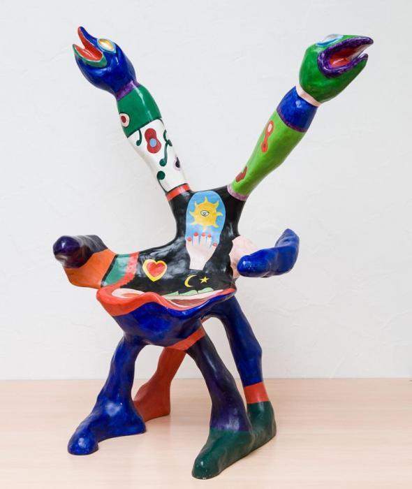 Niki de Saint Phalle-Fauteuil au serpent-1995