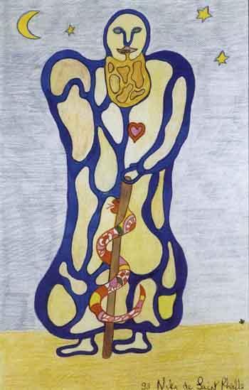 Niki de Saint Phalle-L'ermite-1993