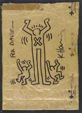 Keith Haring-Keith Haring - Three figures-