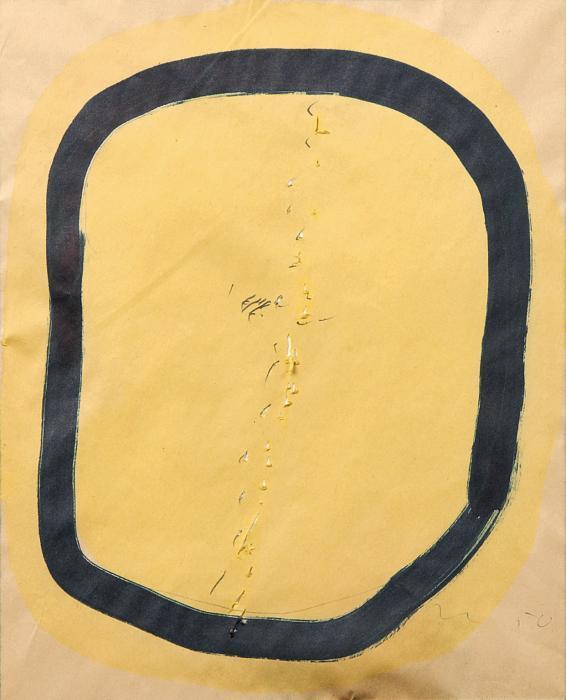 Lucio Fontana-Concetta spaziale-1950