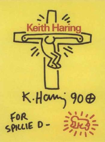 Keith Haring-Keith Haring - Untitled (for Spillie)-1990