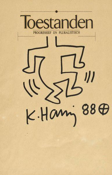 Keith Haring-Keith Haring - Figure-1988