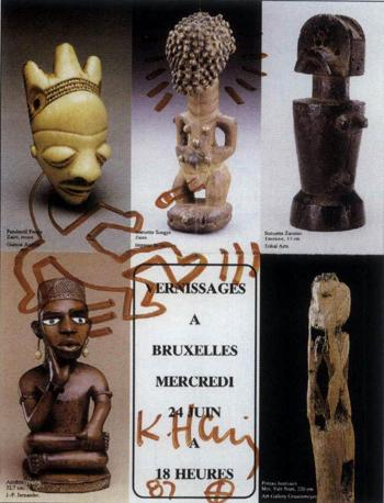 Keith Haring-Keith Haring - Composition-1987