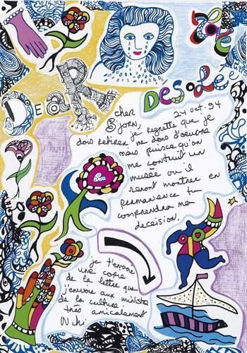 Niki de Saint Phalle-Desolee-1994