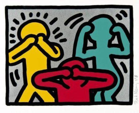 Keith Haring-Keith Haring - Pop Shop III-1989