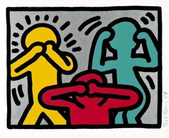 Keith Haring-Keith Haring - Pop Shop III-1989