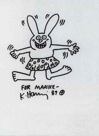 Keith Haring-Keith Haring - Rabbit-1989