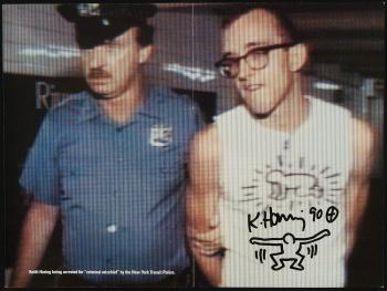 Keith Haring-Keith Haring - Arrested-1990