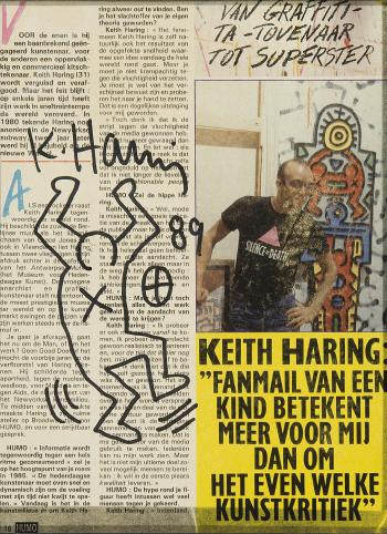 Keith Haring-Keith Haring - Figure-1989
