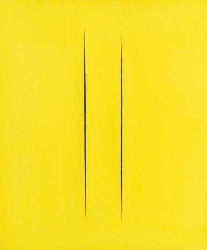Lucio Fontana-Concetto spaziale (Attesa)-1965