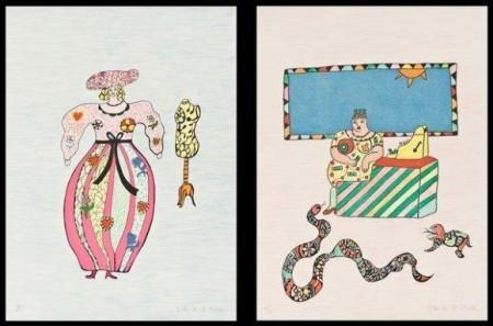 Niki de Saint Phalle-La modiste; La caissiere-1995