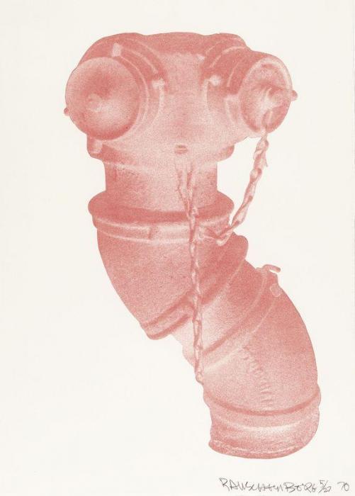 Robert Rauschenberg-Robert Rauschenberg - Unit (Hydrant)-1970