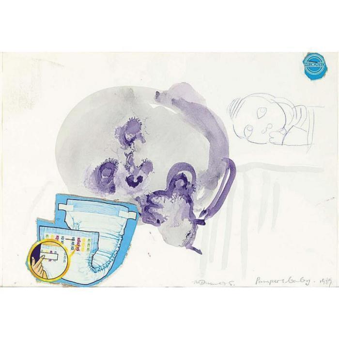 Marlene Dumas-Pampers Baby-1989