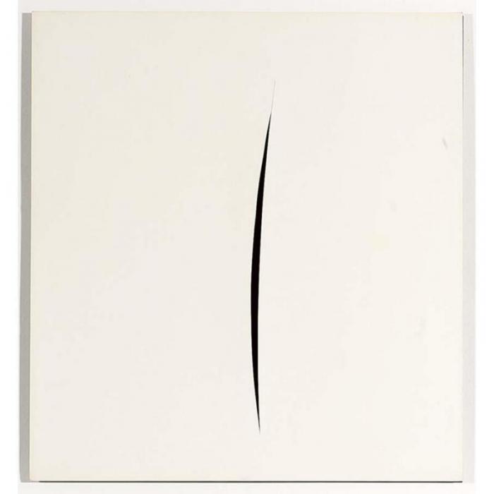 Lucio Fontana-Untitled-1965