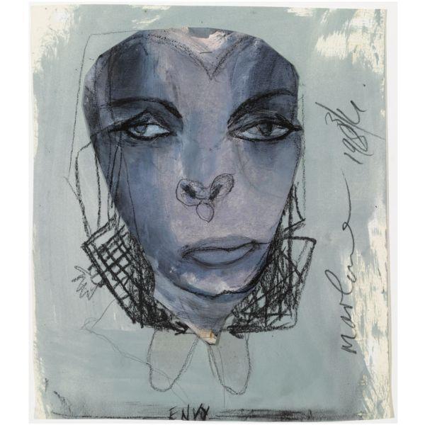 Marlene Dumas-Envy-1984