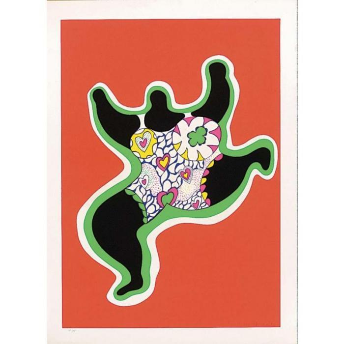 Niki de Saint Phalle-Nana-1980