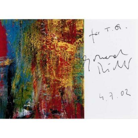Gerhard Richter-Ohne Titel (4.7.02) / Untitled (4.7.02)-2002
