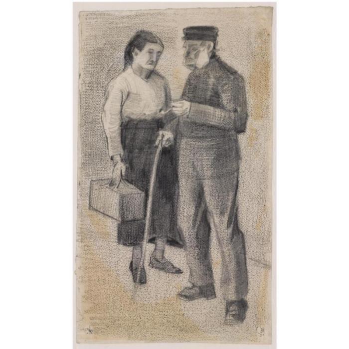 Vincent van Gogh-Oude Man en Vrouw-1882