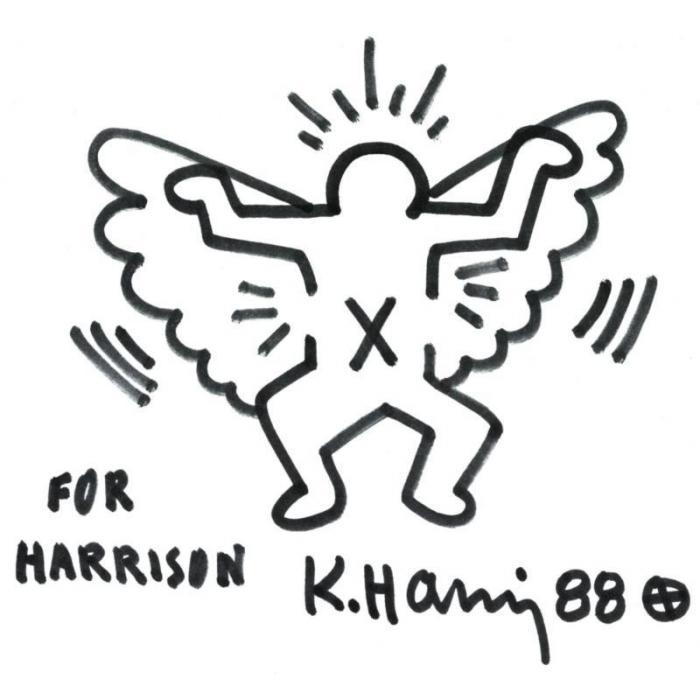 Keith Haring-Keith Haring - For Harrison-1988