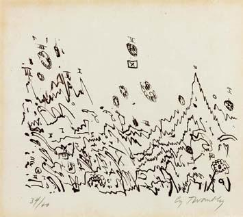 Cy Twombly-Senza titolo-1960
