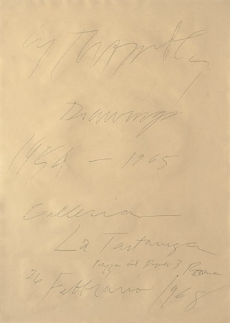 Cy Twombly-Grand Case St. Maartins-1969