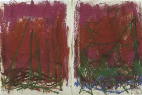 Joan Mitchell-Composition-1980