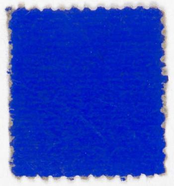 Yves Klein-Timbre bleu-1959