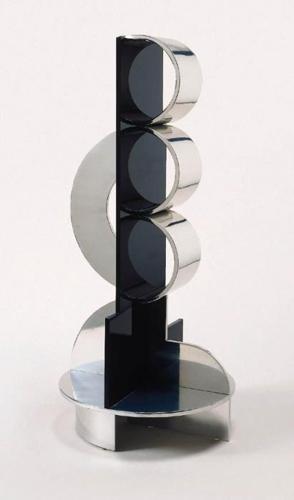 Roy Lichtenstein-Modern Sculpture With Intersecting Arcs-1968