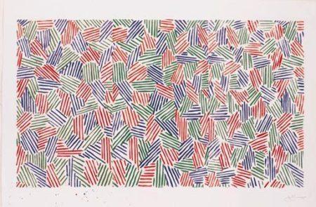 Jasper Johns-Scent (ULAE 166)-1976