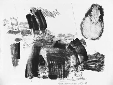 Robert Rauschenberg-Robert Rauschenberg - Test Stone #3 (From Booster And Seven Studies)-1967