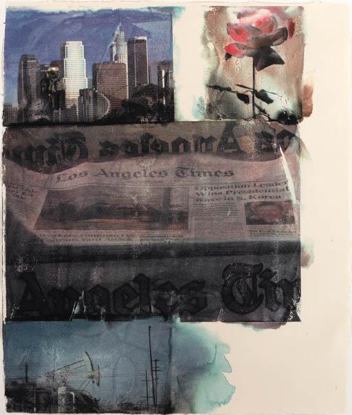 Robert Rauschenberg-Robert Rauschenberg - L.A. Uncovered # 2-1998
