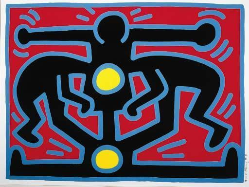 Keith Haring-Keith Haring - Growing Suite-1988