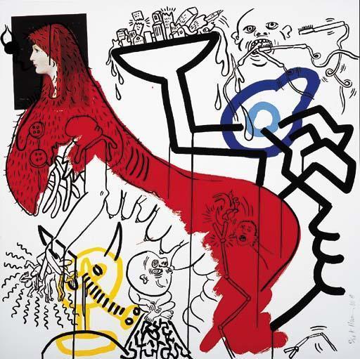 Keith Haring-Keith Haring - Apocalypse 4-1988