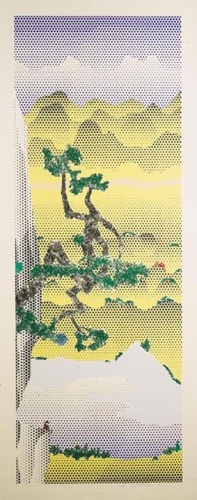 Roy Lichtenstein-Landscape with Chinese Poet-1996