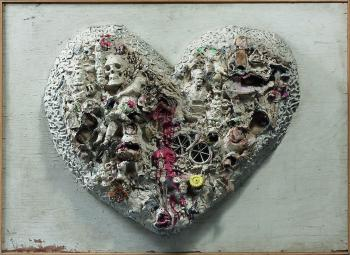 Niki de Saint Phalle-Coeur (Heart no. 1), Ete 1963, Los Angeles, CA-1963