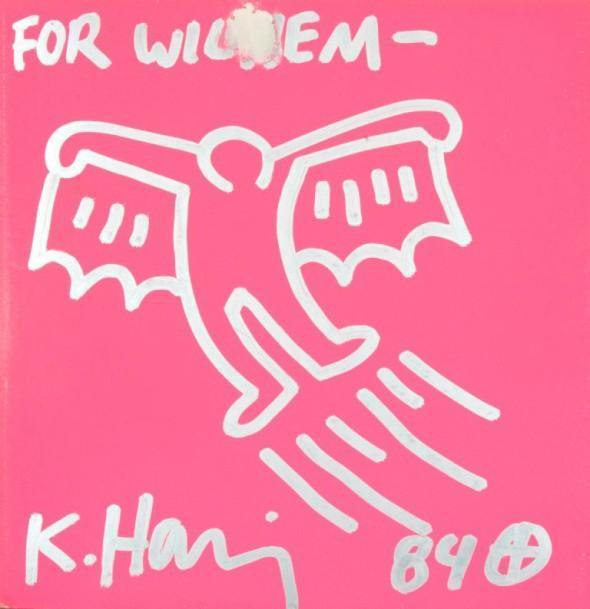 Keith Haring-Keith Haring - Untitled (Batman)-1984
