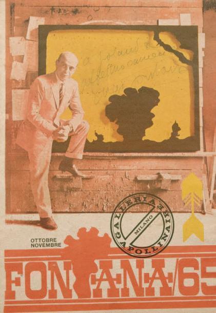 Lucio Fontana-Fontana-1965