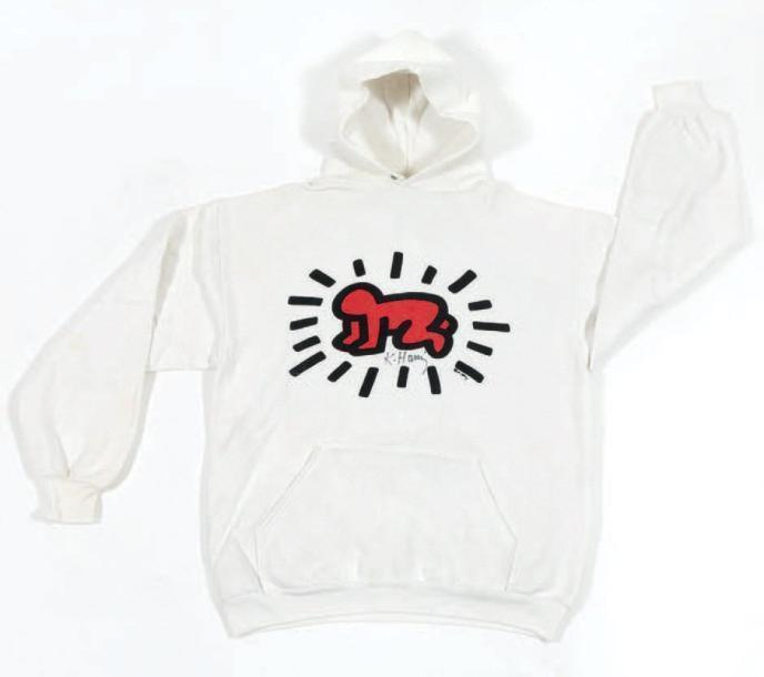 Keith Haring-Keith Haring - Hooded Sweatshirt-