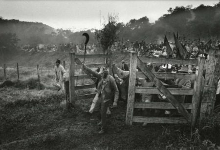 Sebastiao Salgado-Les Sans-terre Prennent Possession de la Ferme Giacometti, Etat De Parana, Bresil-1996